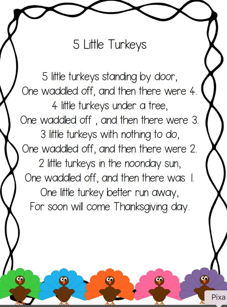Thanksgiving Turkey Poem  Best 25 Fall poems ideas on Pinterest