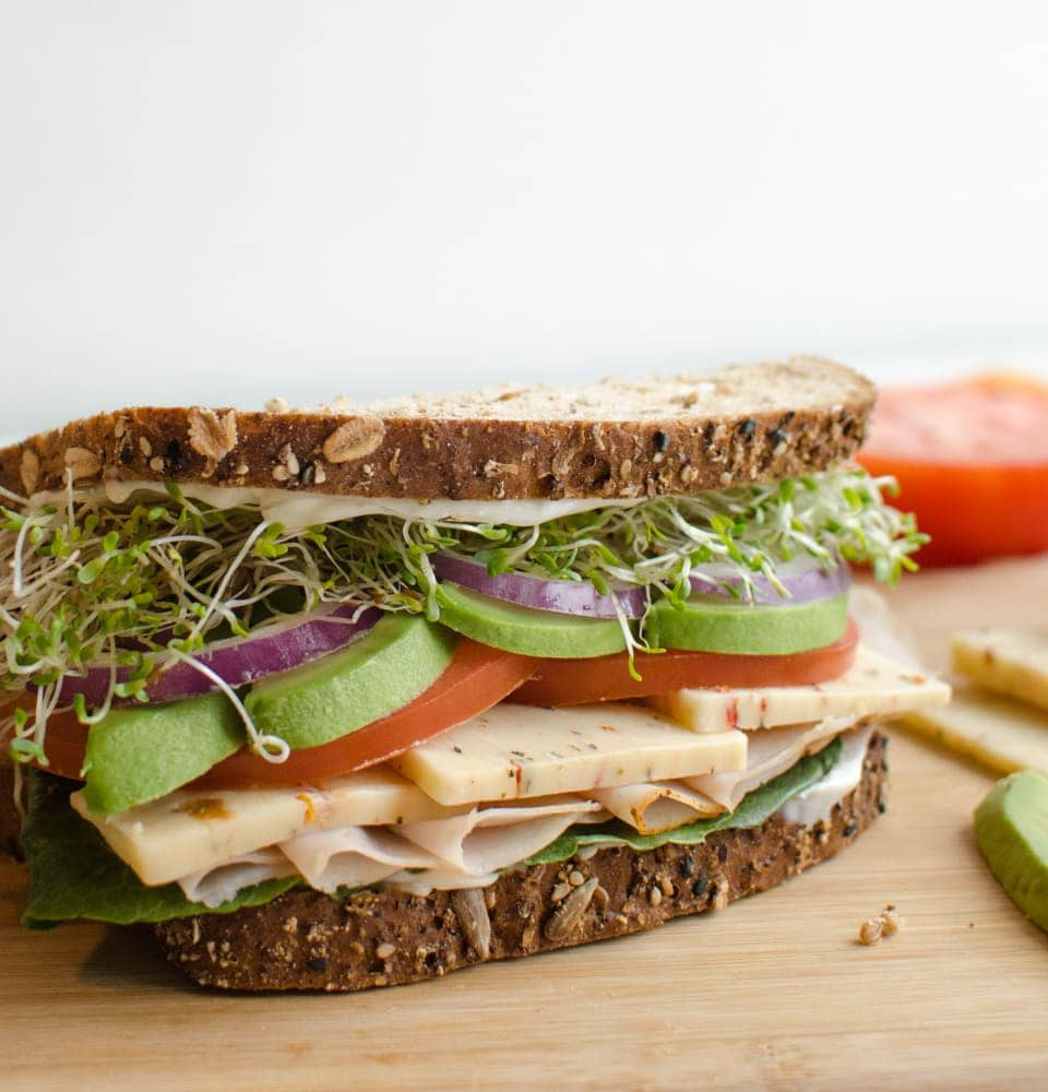 Thanksgiving Turkey Sandwich  The Ultimate Turkey Sandiwch Recipe