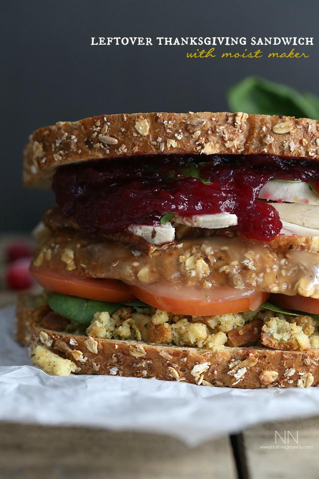 Thanksgiving Turkey Sandwich  22 Leftover Turkey Recipes