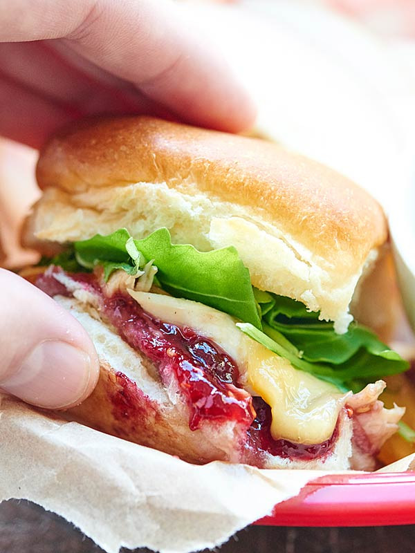 Thanksgiving Turkey Sandwich  Leftover Turkey Sandwich Recipe serve it hot or cold