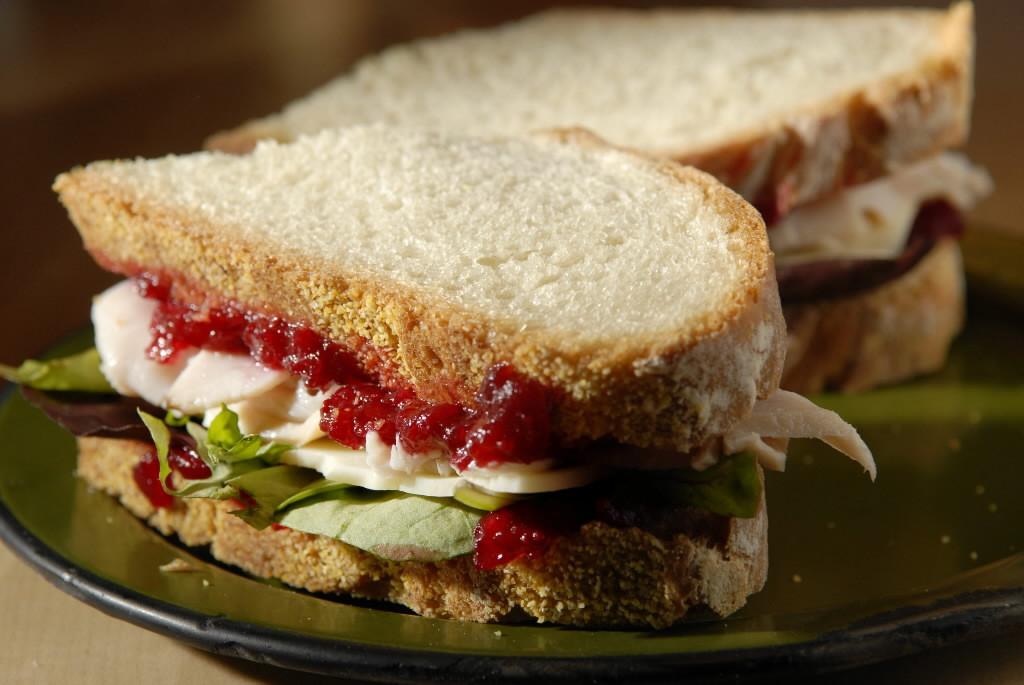 Thanksgiving Turkey Sandwich  Leftover Turkey Ideas