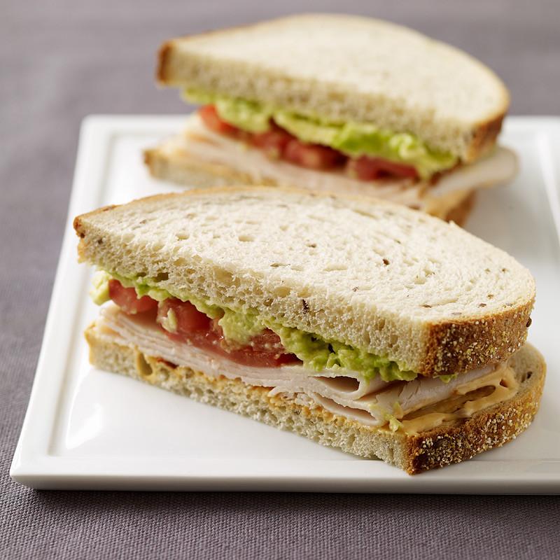 Thanksgiving Turkey Sandwich  Smoked Turkey Sandwiches with Chipotle Mayo Recipes