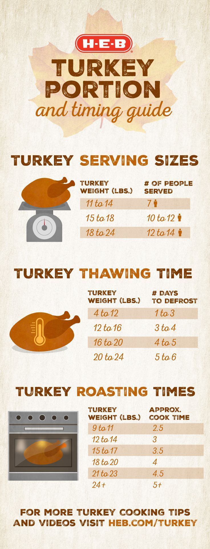 Thanksgiving Turkey Size  Best 25 Serving size ideas on Pinterest