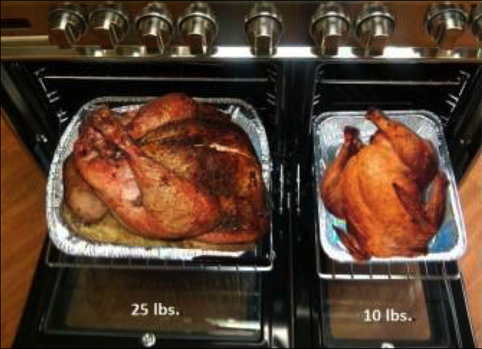 Thanksgiving Turkey Size  Cooking a Turkey – Frequently Asked Questions