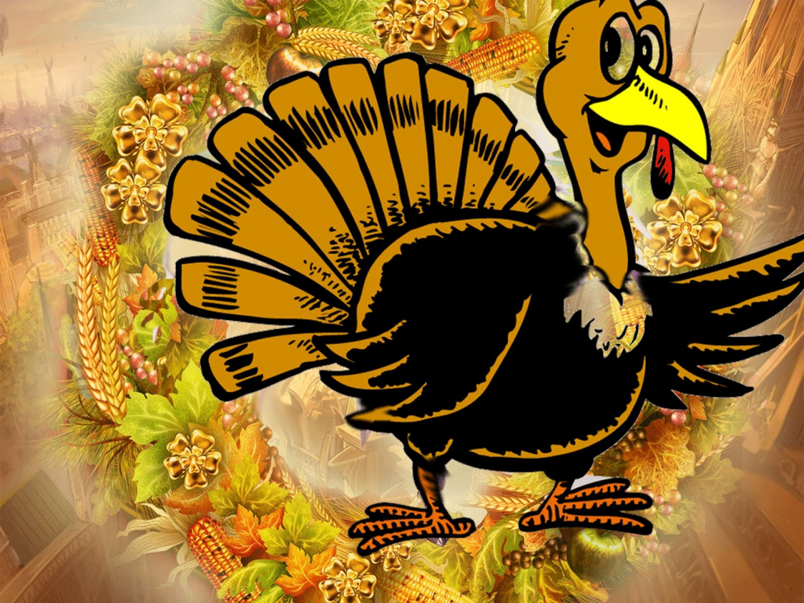 Thanksgiving Turkey Wallpaper  Thanksgiving Day 2012 Free HD Thanksgiving Wallpapers for