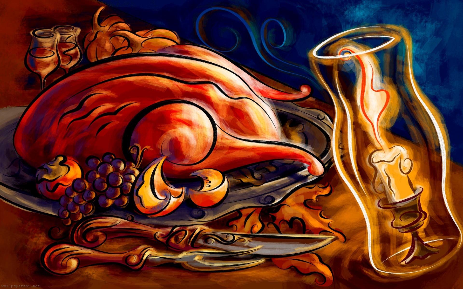 Thanksgiving Turkey Wallpaper  Food