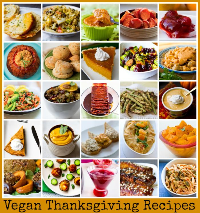 Thanksgiving Vegan Dishes  Vegan Thanksgiving Recipes Mega Recipe Round up Vegan