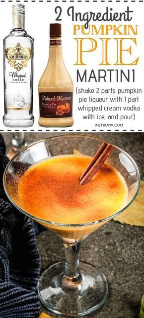 Thanksgiving Vodka Drinks  6 Two Ingre nt Easy Holiday Drink Recipes with alcohol