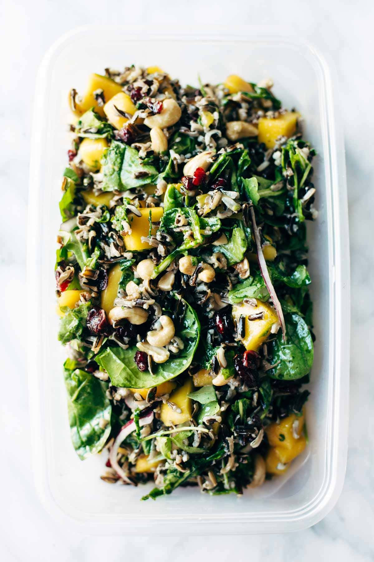 Thanksgiving Wild Rice  Thanksgiving Salad with Wild Rice and Lemon Dressing