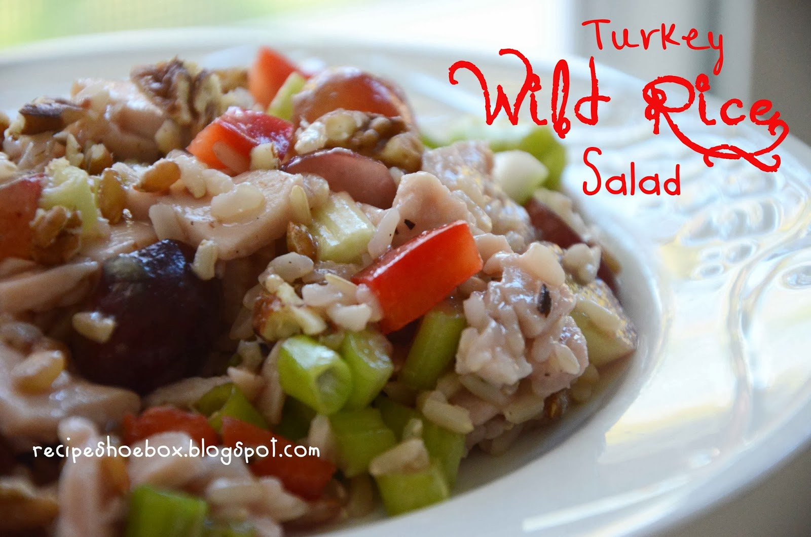 Thanksgiving Wild Rice Recipe  Recipe Shoebox Turkey Wild Rice Salad
