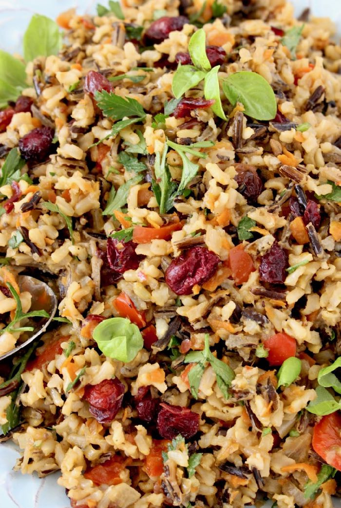 Thanksgiving Wild Rice Recipe  Thanksgiving Wild Rice Recipe • Veggie Society