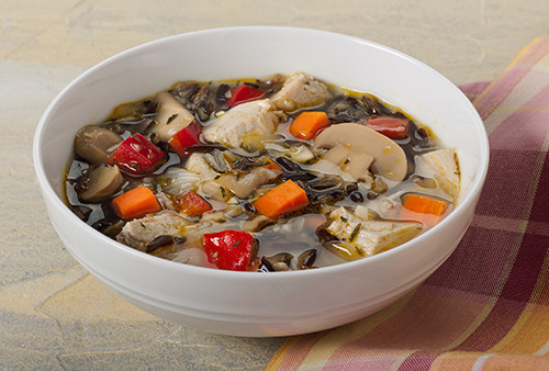 Thanksgiving Wild Rice Recipe  Turkey Wild Rice and Mushroom Soup Kidney Friendly