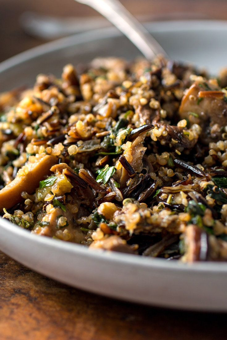 Thanksgiving Wild Rice Recipe  17 Best ideas about Wild Rice Pilaf on Pinterest