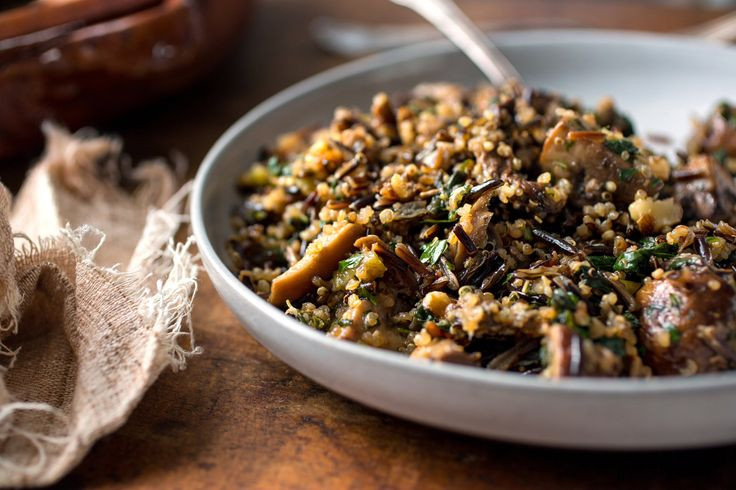 Thanksgiving Wild Rice Recipe  Wild Rice and Quinoa Stuffing Recipe NYT Cooking