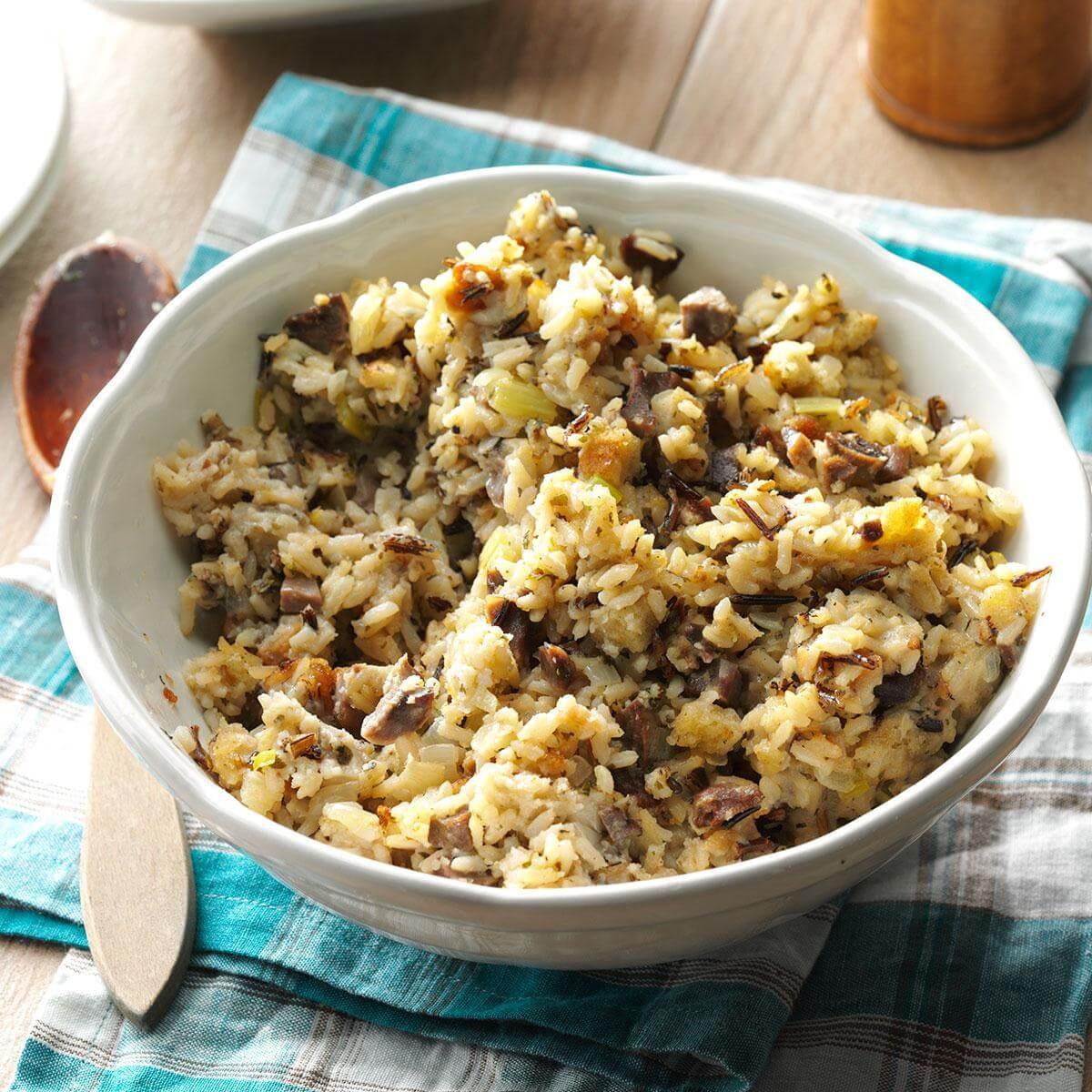 Thanksgiving Wild Rice Stuffing  Wild Rice Stuffing Recipe