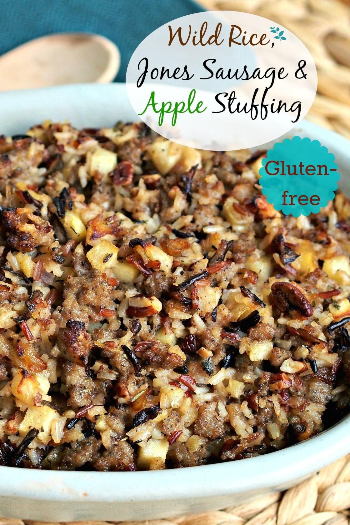 Thanksgiving Wild Rice Stuffing  Wild Rice Jones Sausage & Apple Stuffing Simply Sated