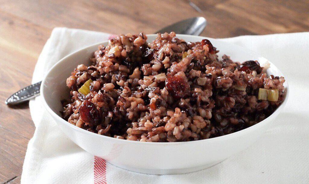 Thanksgiving Wild Rice Stuffing  Wild Rice Stuffing