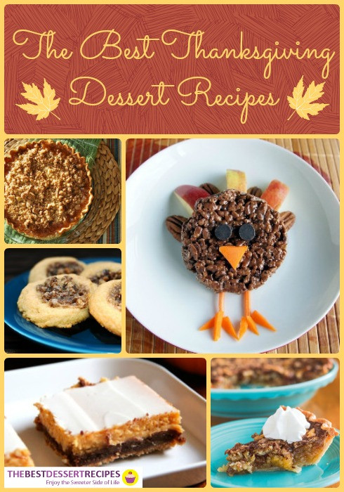 The Best Thanksgiving Desserts  Festive Holiday Desserts 111 Thanksgiving Dessert Recipes