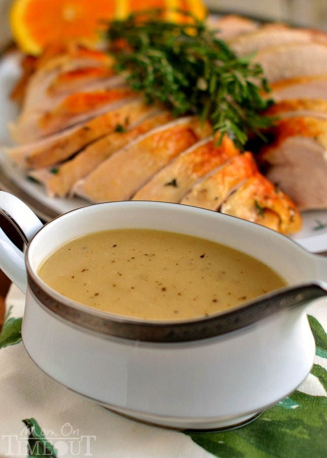 The Best Turkey Recipes For Thanksgiving  The Best Turkey Gravy Recipe Mom Timeout