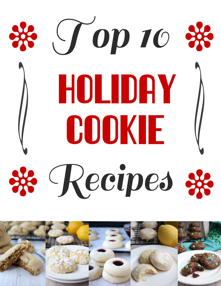 Top Ten Christmas Cookies  Top 10 Holiday Cookie Recipes Recipe – The Kitchen Paper