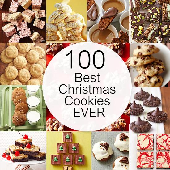 Top Ten Christmas Cookies  100 Best Christmas Cookies EVER