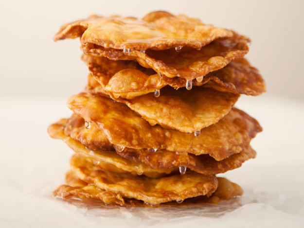 Traditional Mexican Christmas Desserts  Buñuelos de Rodilla Mexican Christmas Fritters Recipe