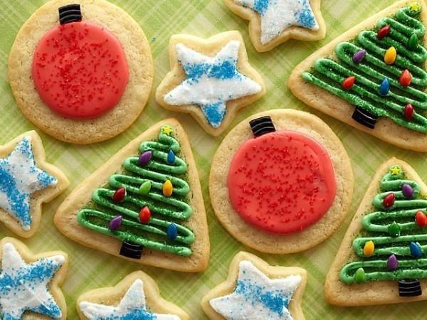 Trisha Yearwood Christmas Cookies  Iced Sugar Cookies Recipe