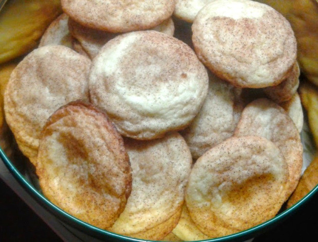 Trisha Yearwood Christmas Cookies  Made from scratch Snickerdoodle cookies make for great