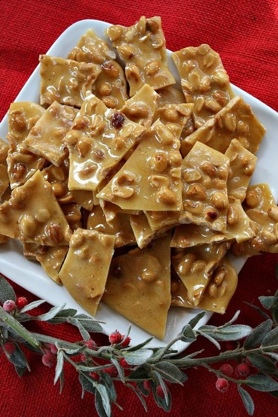 Trisha Yearwood Hard Candy Christmas  Peanut brittle Peanuts and Peanut brittle recipe on Pinterest