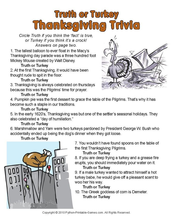 Turkey And Thanksgiving Facts  A little trivia for Thanksgiving