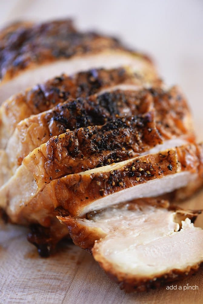 Turkey Breast Recipe For Thanksgiving  Roasted Turkey Breast Recipe Add a Pinch