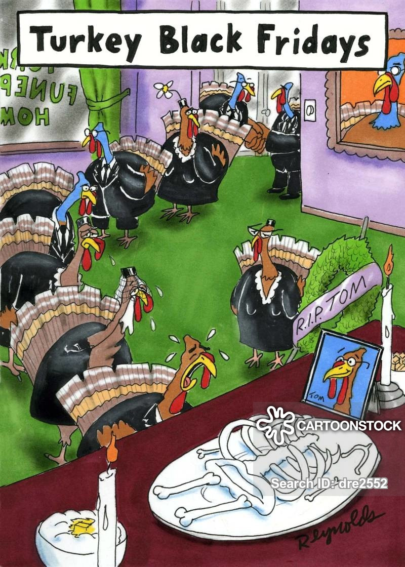 Turkey Cartoons Thanksgiving  Black Friday Cartoons and ics funny pictures from