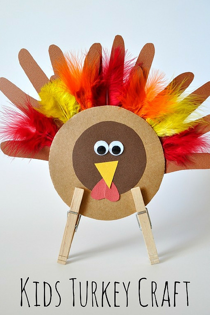 Turkey Crafts For Thanksgiving  Thanksgiving Turkey Craft for Kids