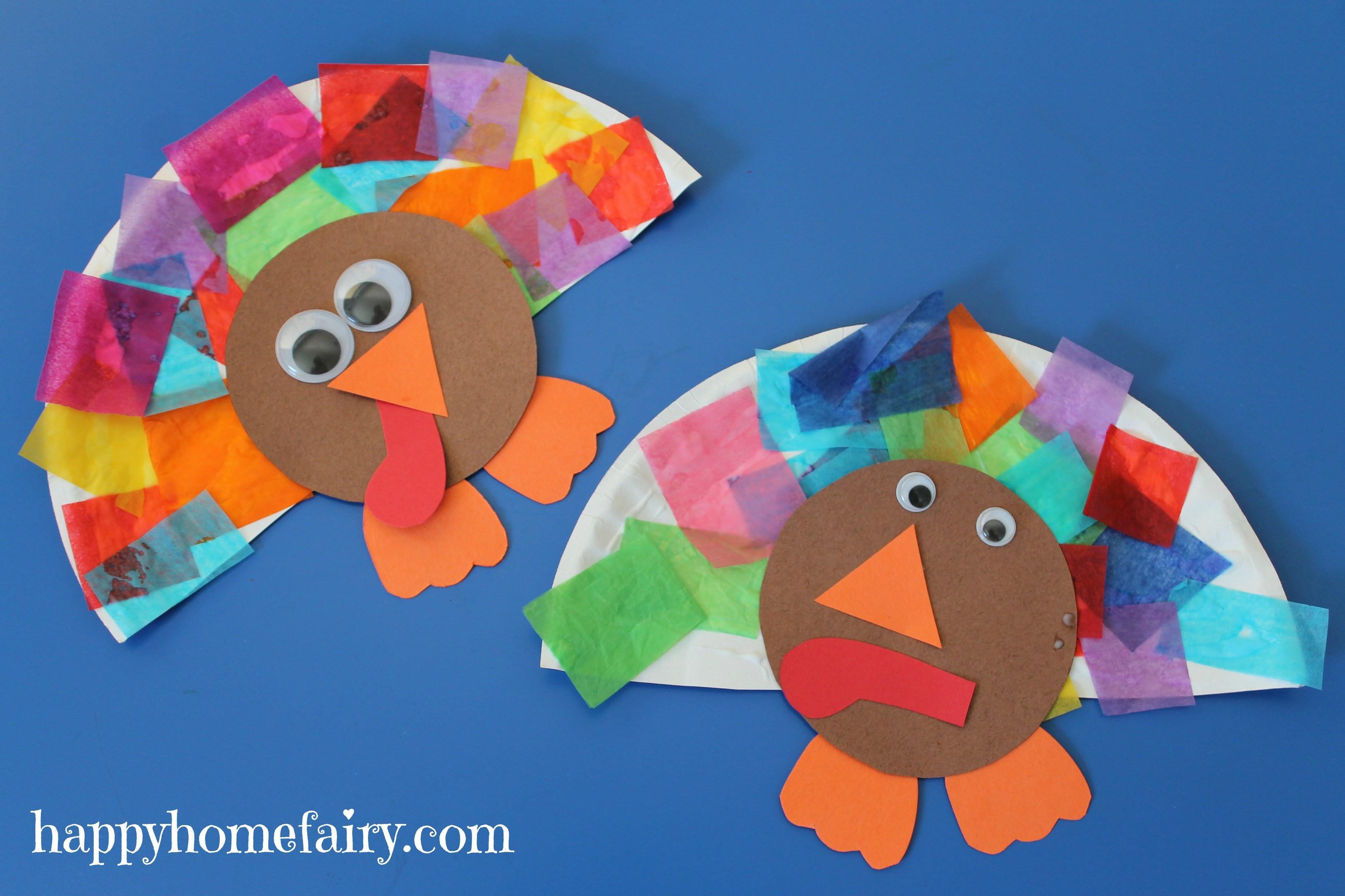 Turkey Crafts For Thanksgiving  Easy Turkey Craft Happy Home Fairy