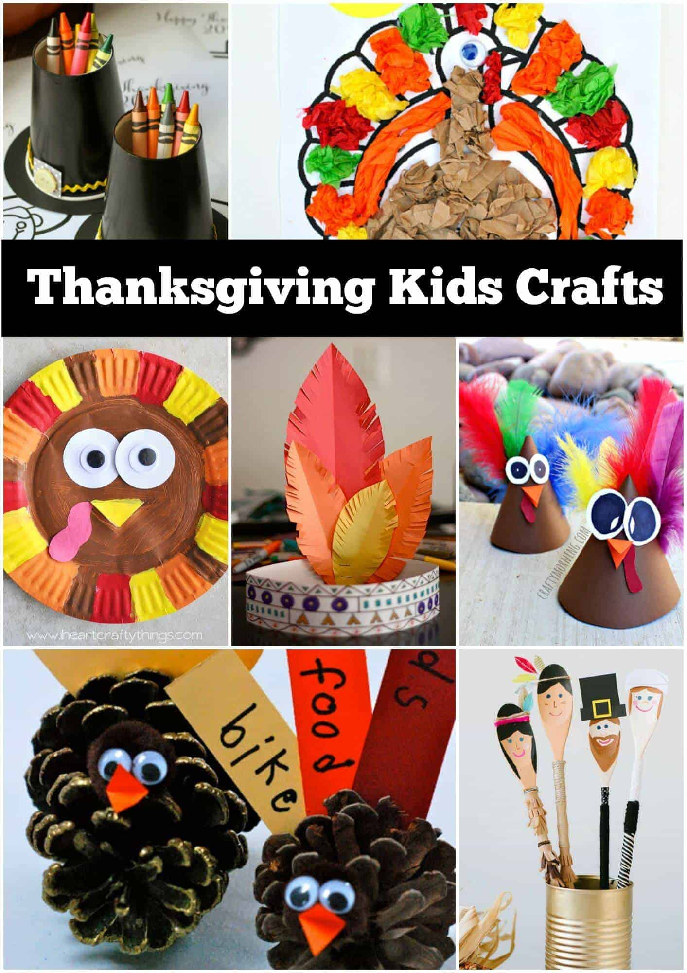 Turkey Crafts For Thanksgiving  12 Thanksgiving Craft Ideas for kids Page 2 of 2