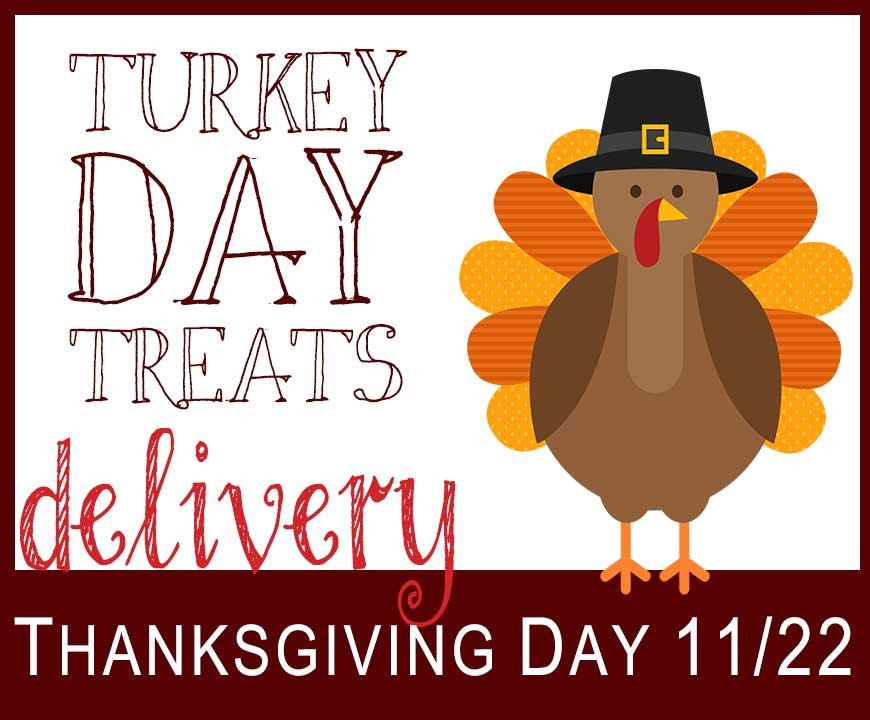 Turkey Delivered Thanksgiving  Turkey Day Treats Delivery 2018 Meals on Wheels