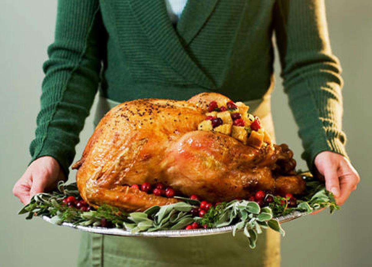 Turkey Delivered Thanksgiving  Boston grandmother delivered grandchild while cooking