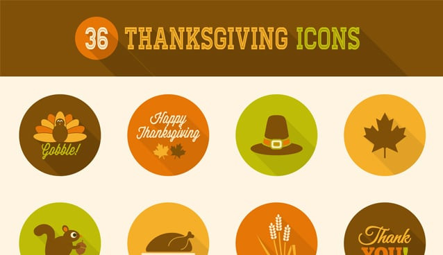 Turkey Icon For Thanksgiving  36 Thanksgiving Icons
