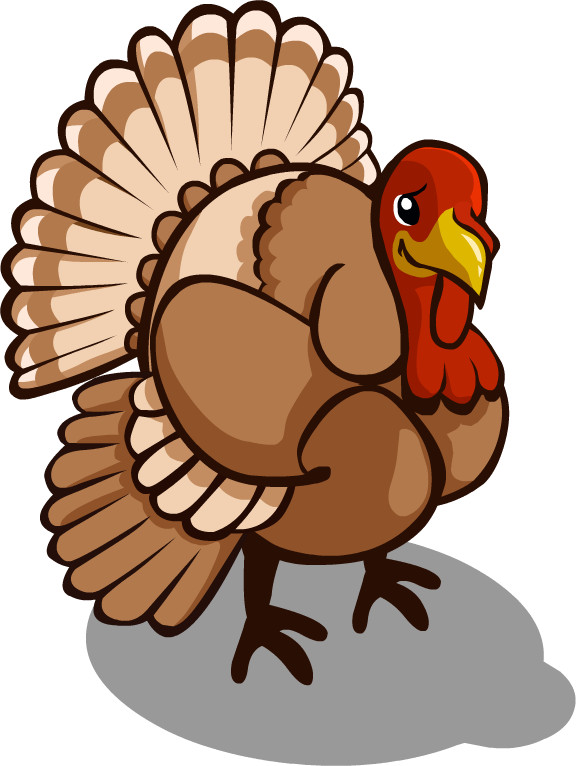 Turkey Icon For Thanksgiving  Weird Wonders of Thanksgiving