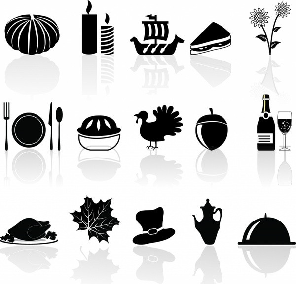 Turkey Icon For Thanksgiving  Thanksgiving free vector 105 Free vector for