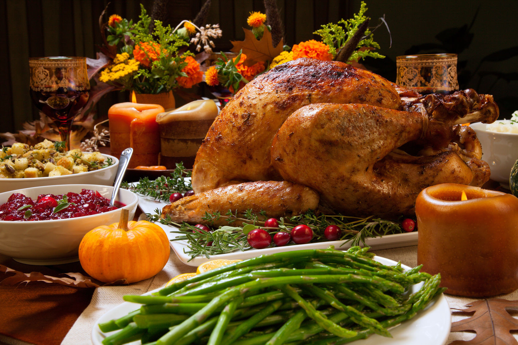Turkey Pictures For Thanksgiving  Festive Thanksgiving Tablescape Ideas Brock Built