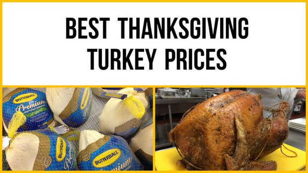 Turkey Prices 2019 Thanksgiving  Thanksgiving 2016 Which supermarket has the best turkey