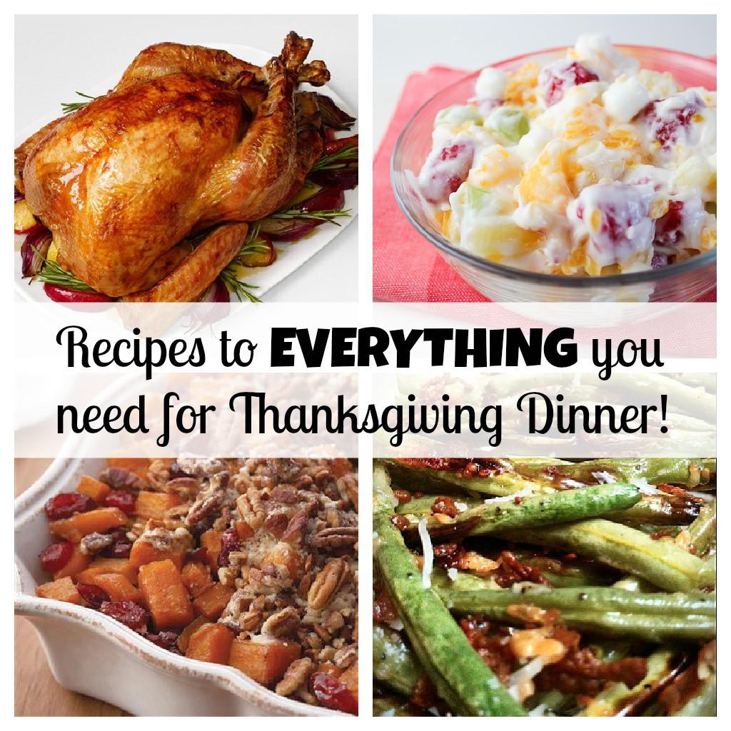 Turkey Recipe For Thanksgiving Dinner  Your PLETE Thanksgiving dinner with recipes for