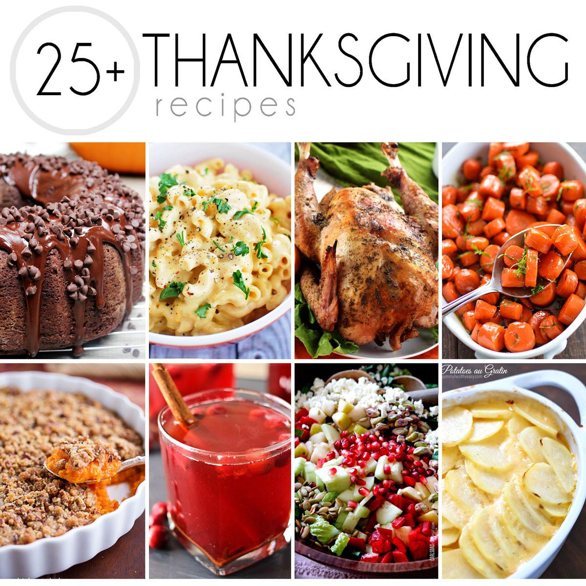 Turkey Recipe For Thanksgiving Dinner  25 Thanksgiving Recipes