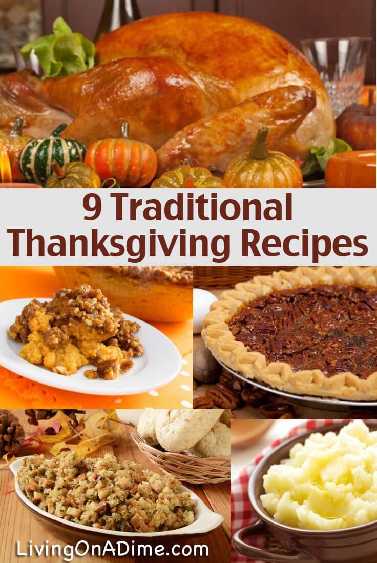 Turkey Recipe For Thanksgiving Dinner  Traditional Thanksgiving Recipes Dinner For 10 For Less