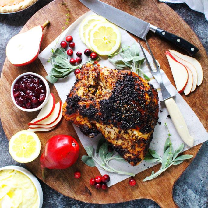 Turkey Recipe For Thanksgiving Dinner  Easy Small Scale Thanksgiving Dinner