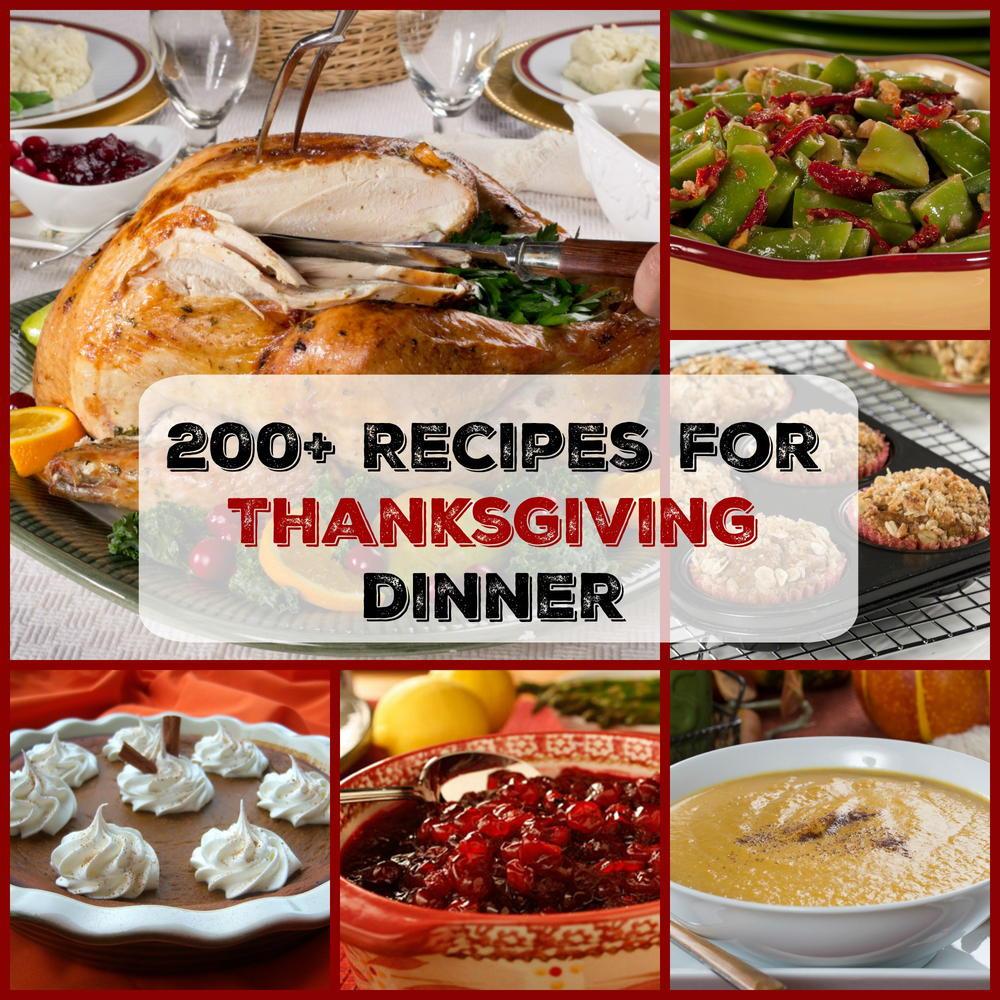Turkey Recipe For Thanksgiving Dinner  Easy Thanksgiving Menu 200 Recipes for Thanksgiving