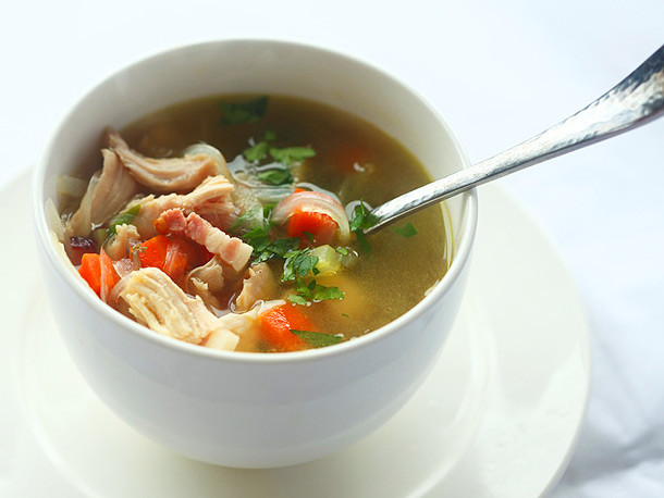 Turkey Soup From Thanksgiving Leftovers  22 Recipes for Your Thanksgiving Leftovers