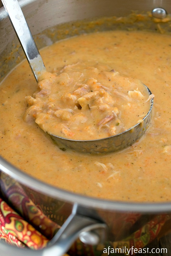 Turkey Soup From Thanksgiving Leftovers  Cream of Turkey Soup A Family Feast