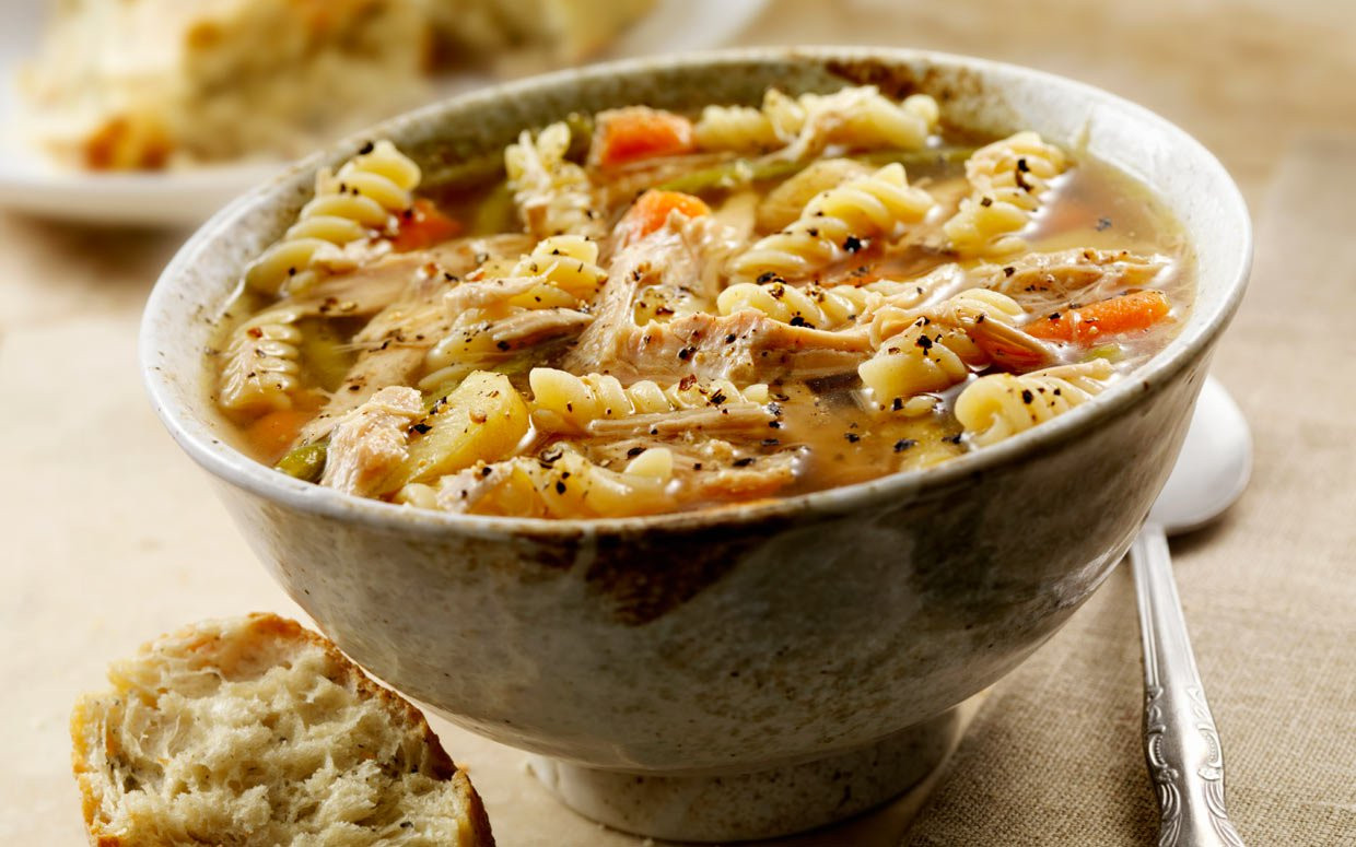 Turkey Soup From Thanksgiving Leftovers  Repurposing Thanksgiving Leftover Turkey Noodle Soup